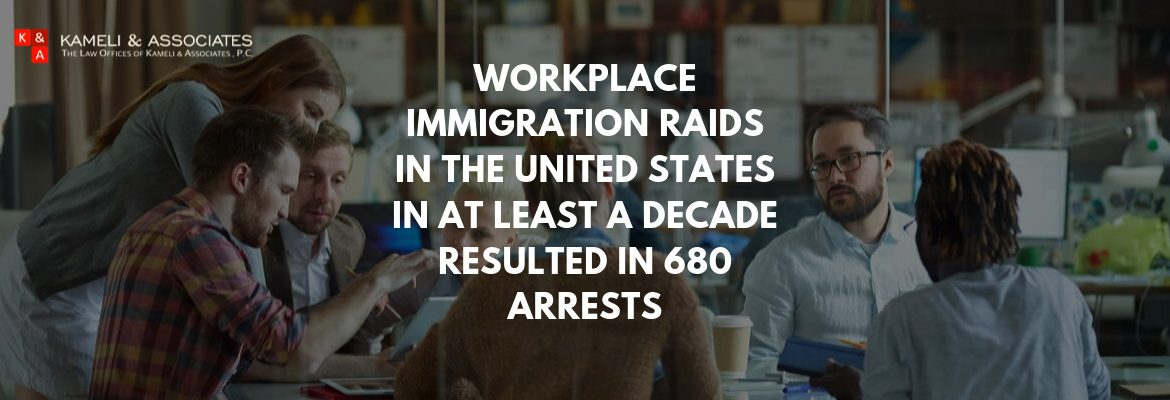 Largest Workplace Immigration Raids In At Least A Decade