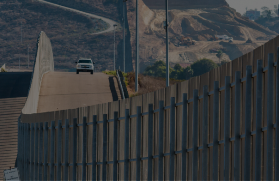 BLOCK PENTAGON FUNDS FOR BORDER WALL